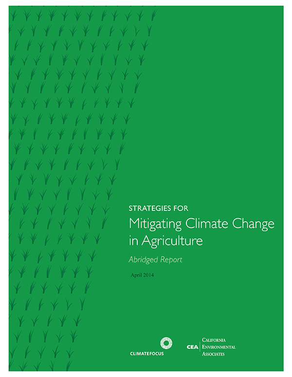Strategies for Mitigating Climate Change in Agriculture