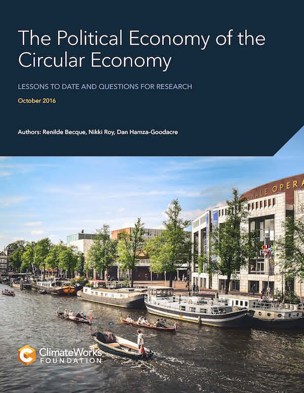 The Political Economy of the Circular Economy