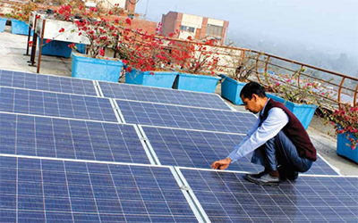 Encourage Capital raises $40 million to help India's small businesses switch to solar