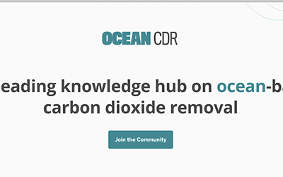 New knowledge hub launched to advance ocean-based climate solutions