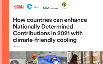 Enhanced NDCs feature crucial solution for turning down global temperatures